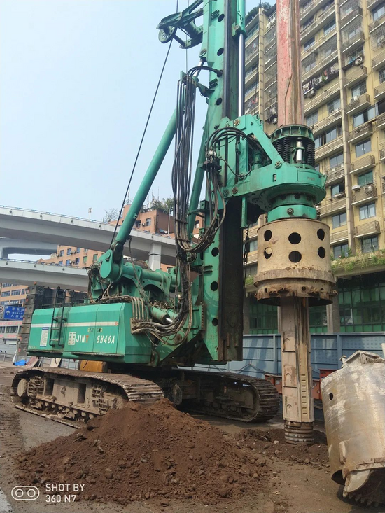 金泰SH46A旋挖钻机