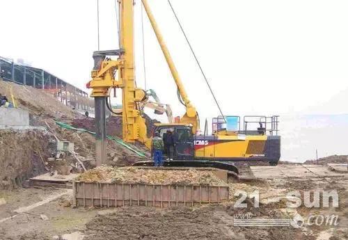 玉柴YCR260旋挖钻机卡钻后应该怎样处理?