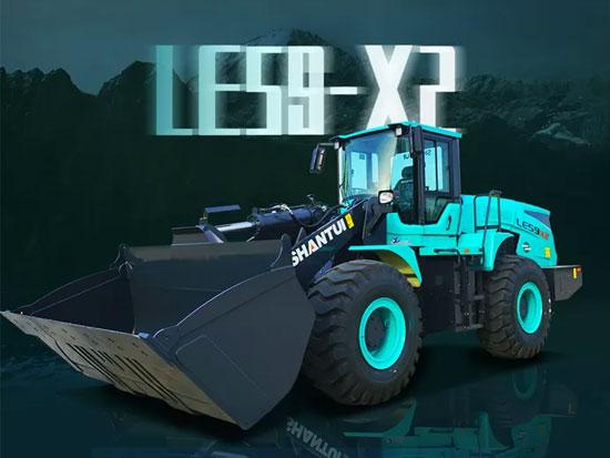 带您了解山推LE59-X2纯电装载机