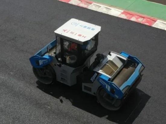 客户的话   探访株洲国际赛车场跑道施工现场