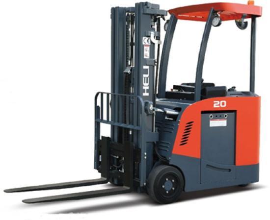 安徽合力G系列1.5-2吨站式三支点蓄电池平衡重式叉车