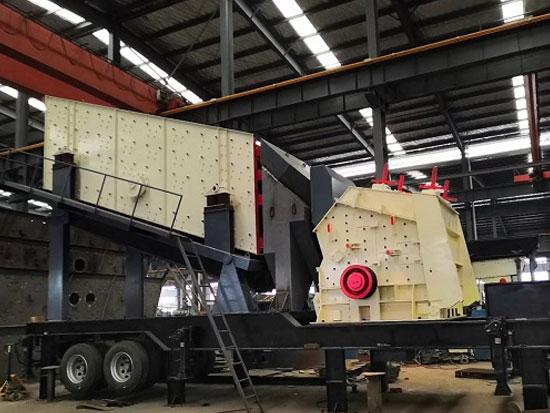 上海山卓移动破碎站凭借高性能得到众多行业的重用