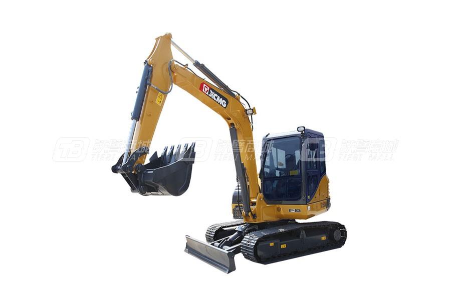 徐工XE55DA挖掘机性能配置点评,值得买吗?