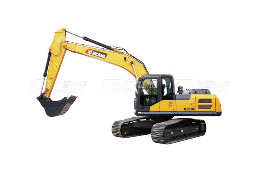 为什么大家都买徐工挖掘机XE225DK