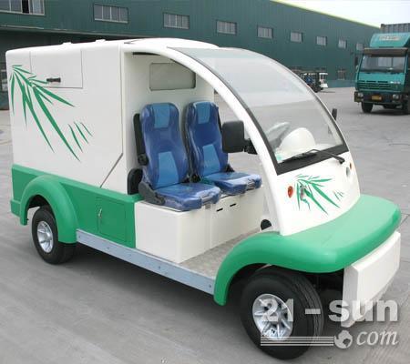 环卫工作投入电动环卫垃圾车的优势