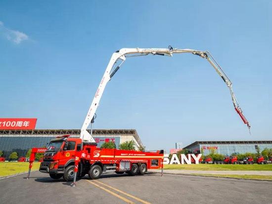 消防黑科技,锁定三一重工第十九届国际消防展!