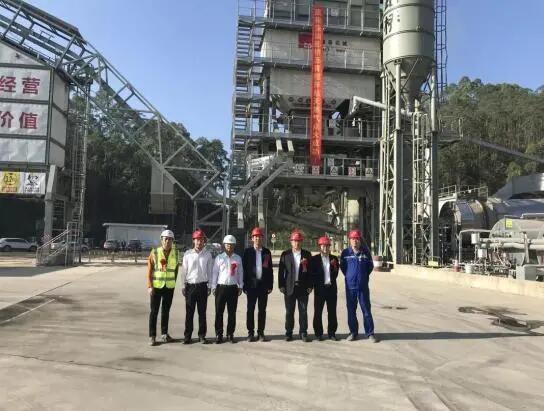 路桥集团建成深圳地区首个天然气沥青搅拌站