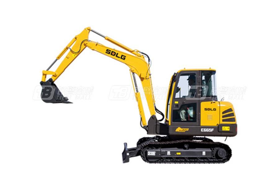 什么履带挖掘机性价比高?这款山东临工履带挖掘机E665F不能错过