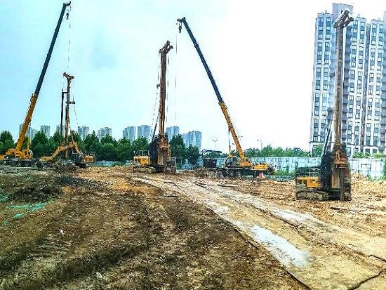 徐工旋挖钻机强基固本,为城市焕新