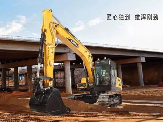 三一SY135C Pro挖掘机 | 这身段 !凭实力圈粉