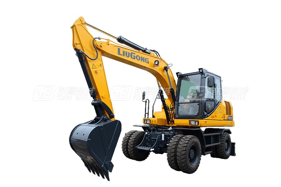 柳工轮式挖掘机W915E使用感受