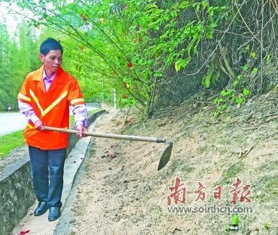 公路养护员赖崇胜:从少年到华发,35年默默甘当养路人