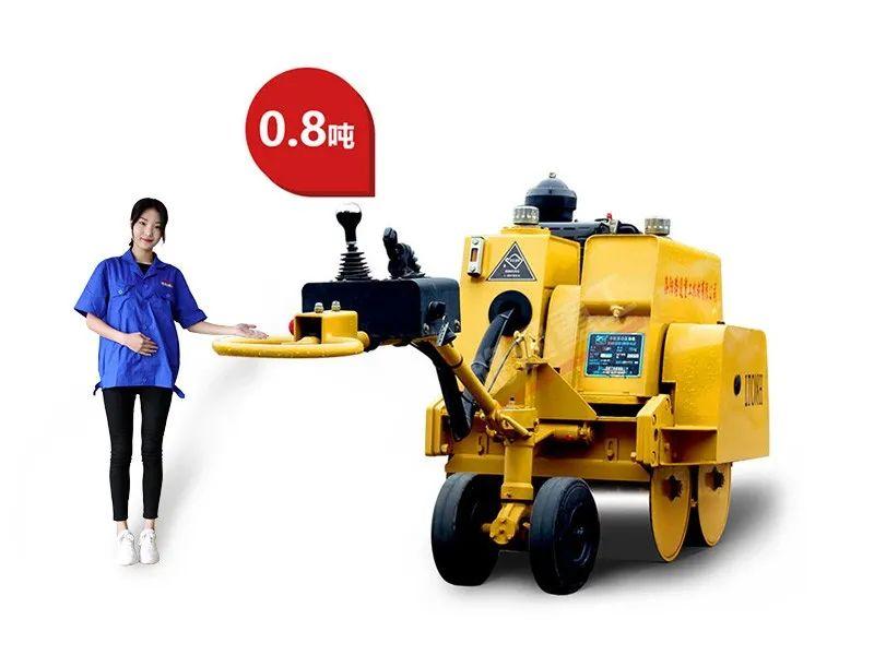 @工程人,这里有你们想要的双钢轮压路机!