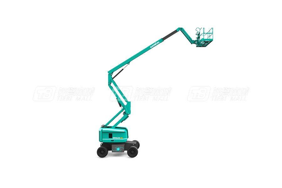 山河智能曲臂式高空作业平台SWA22JE使用感受
