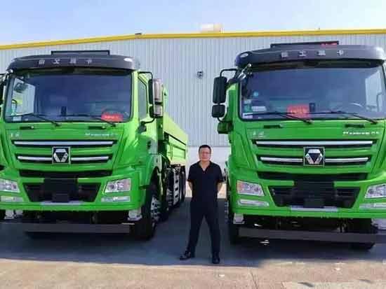 """再次脱颖而出!这款国六渣土车成为上海市场""""香饽饽"""""""