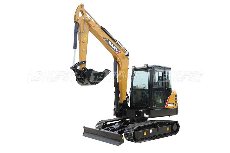 三一挖掘机SY55C Pro价格查询,三一55挖机多少钱一台?