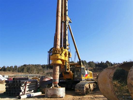 XR400E旋挖钻机为大直径、深桩、硬地层工况而生!