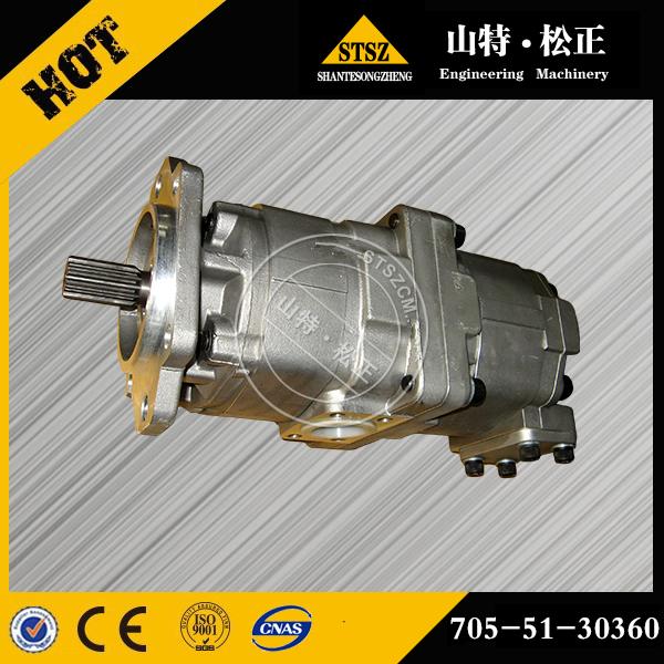 小松装载机WA180-1齿轮泵705-51-20070原厂原...