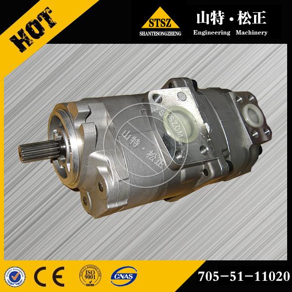 原厂小松推土机D155AX-3齿轮泵705-51-30360...