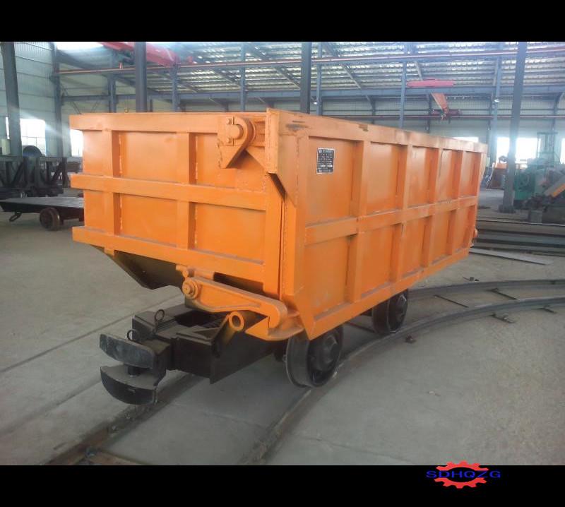 恒启供应固定式矿车侧卸式翻斗式矿车可定做